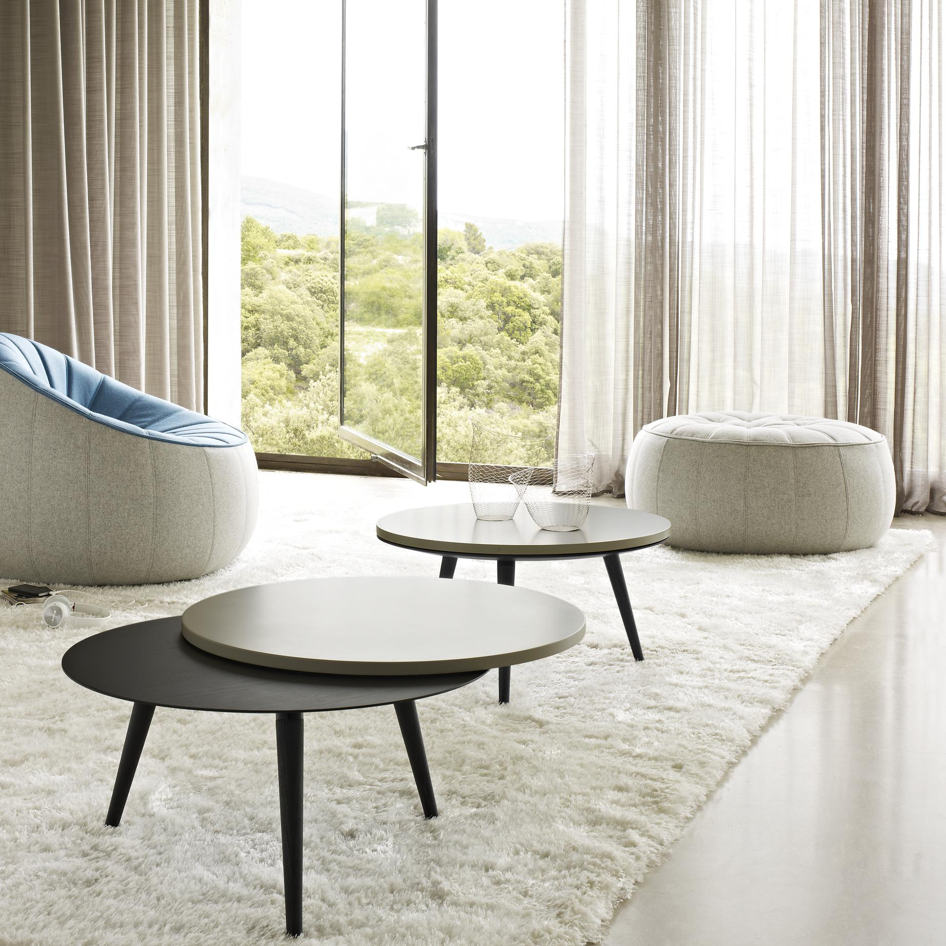 Nolly occasional tables designer evangelos vasileiou - Ligne roset table basse ...