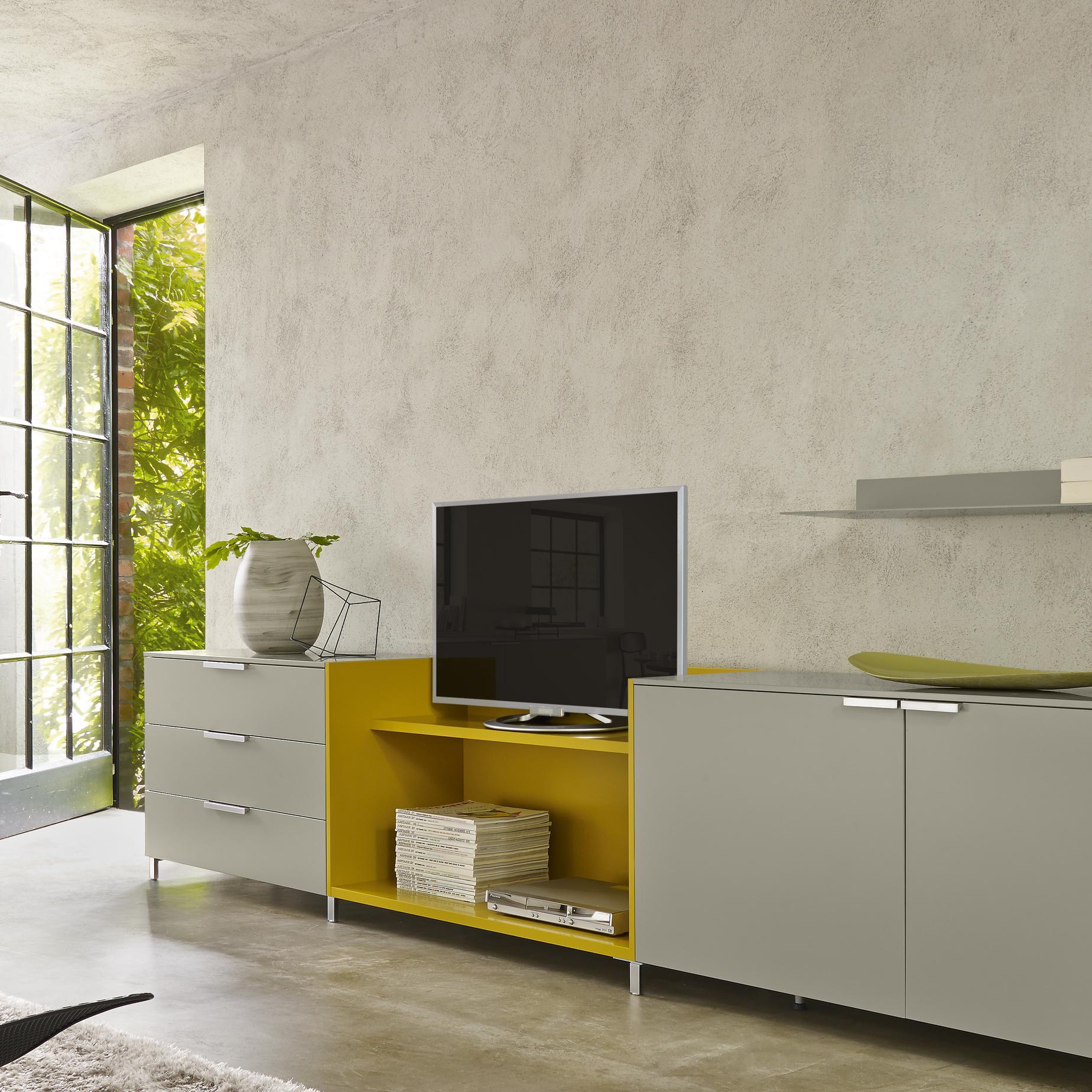 everywhere media storage designer christian werner ligne roset. Black Bedroom Furniture Sets. Home Design Ideas