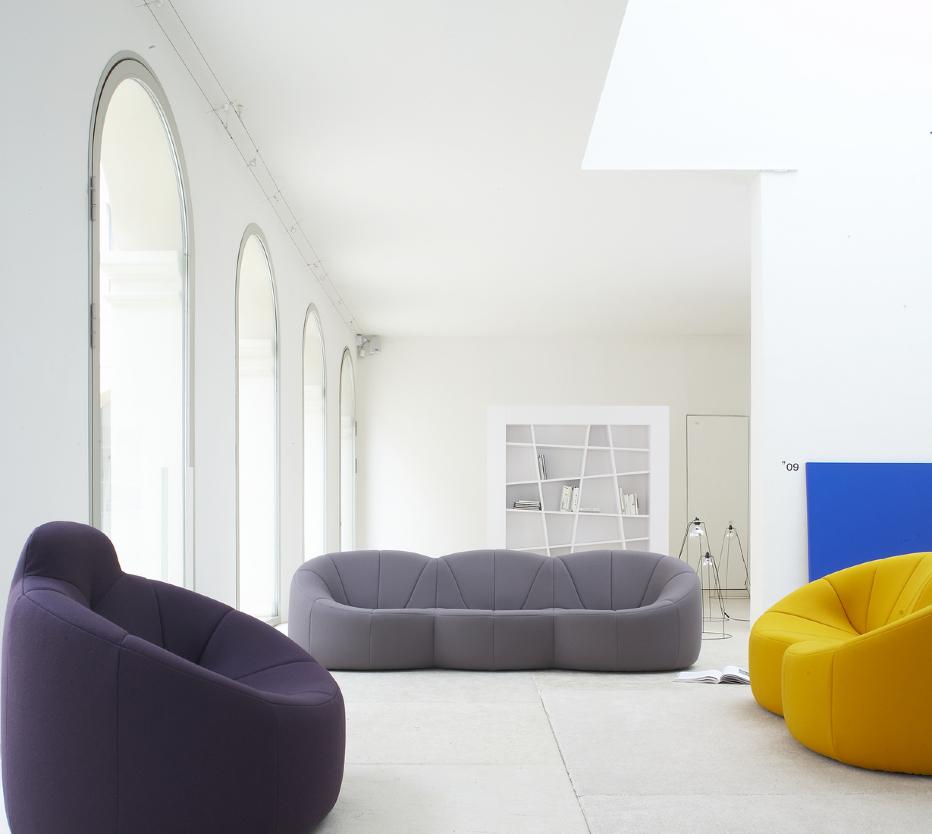 Pumpkin armchairs designer pierre paulin ligne roset - Ligne roset pumpkin sofa ...