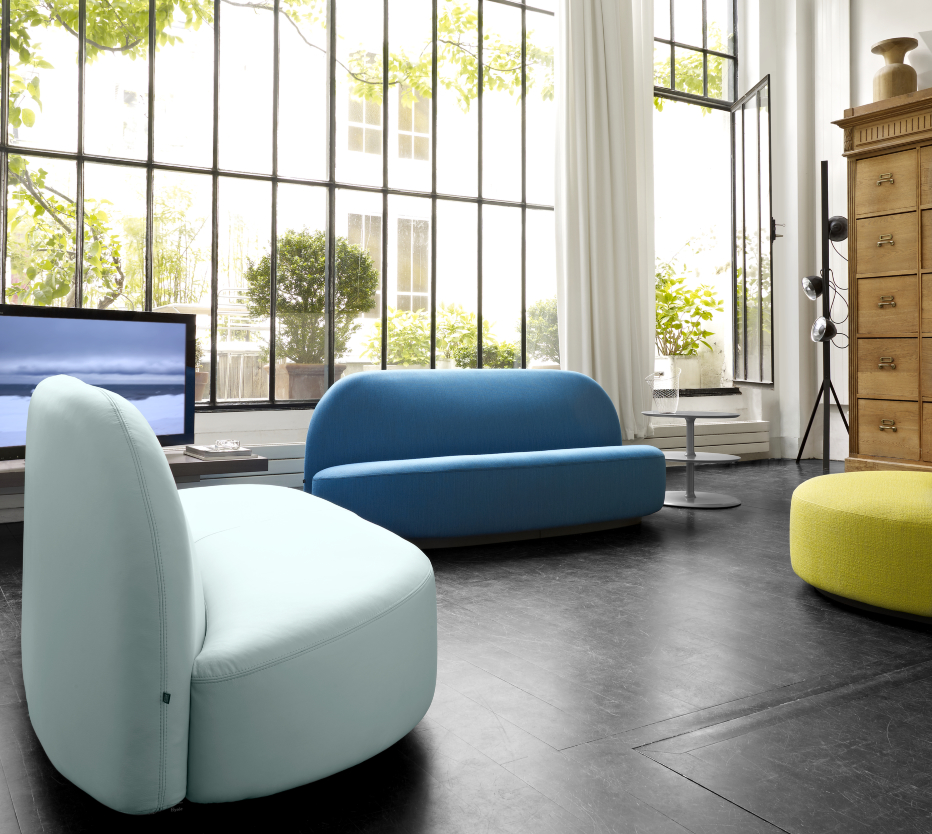 elysee canap s designer pierre paulin ligne roset. Black Bedroom Furniture Sets. Home Design Ideas