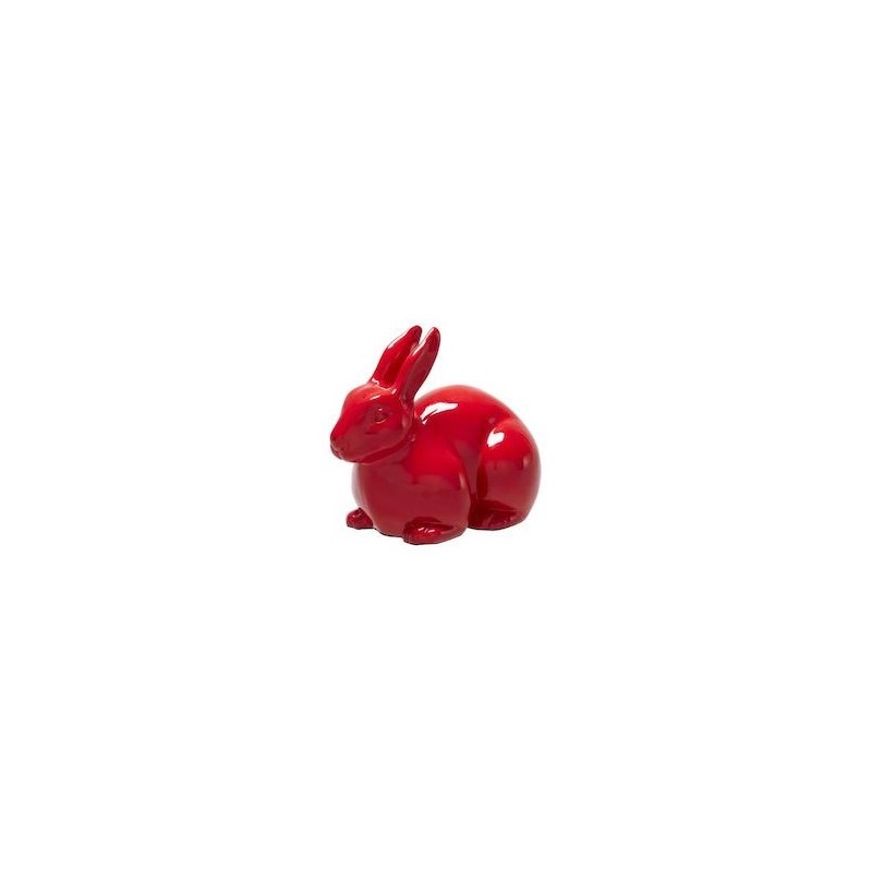MINI PAN PAN DECORATIVE RABBIT RED Ligne Roset