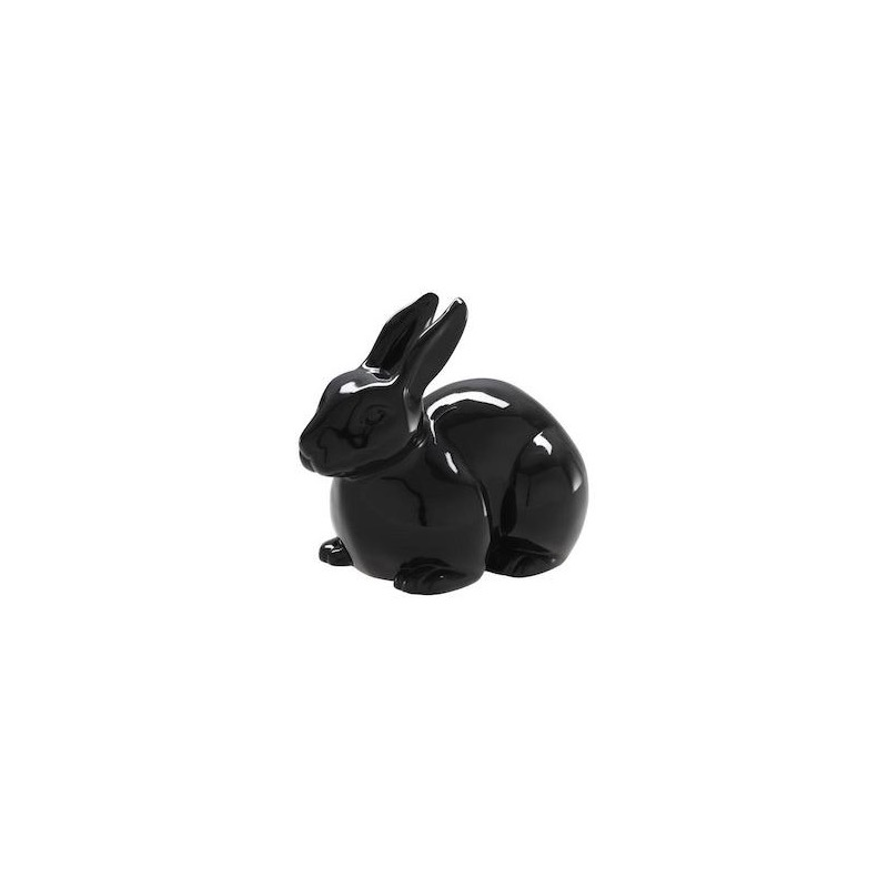MINI PAN PAN DECORATIVE RABBIT BLACK Ligne Roset