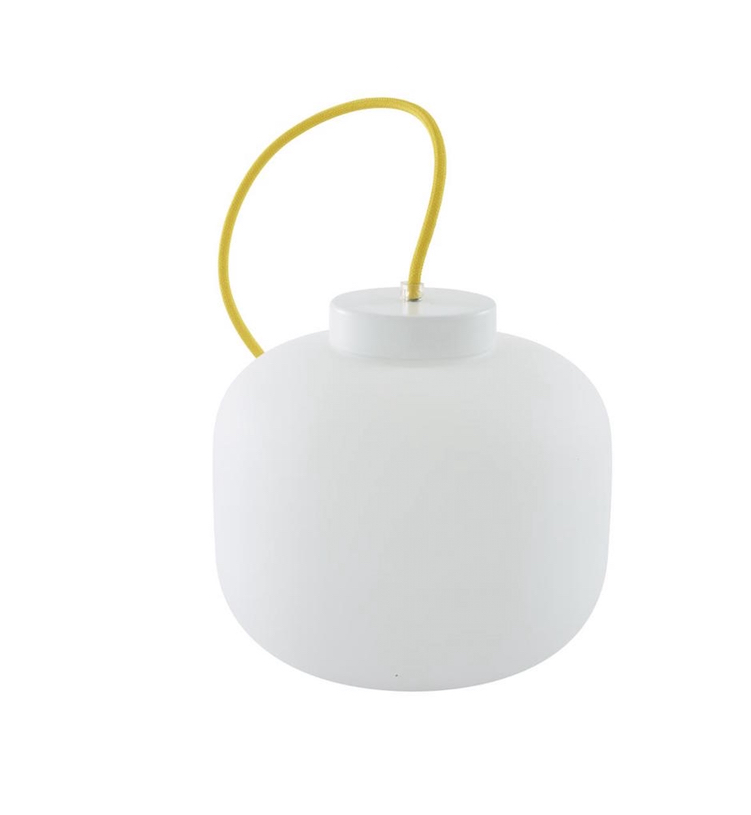 TABLE LAMP WHITE OPAL GLASS  Ligne Roset