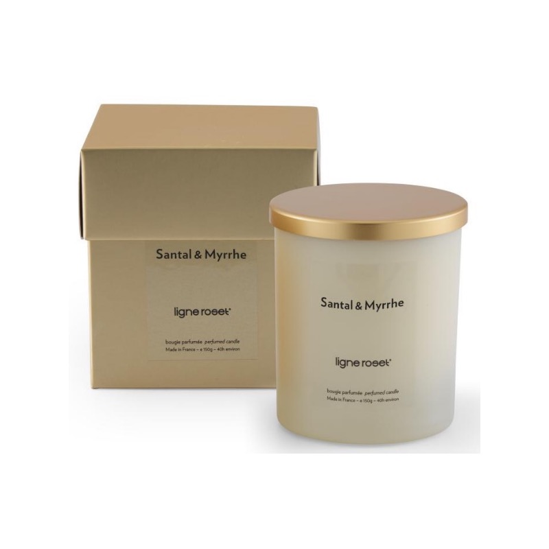 SET OF 6 CANDLES SANDALWOOD & MYRRH FRAGRANCE  Ligne Roset