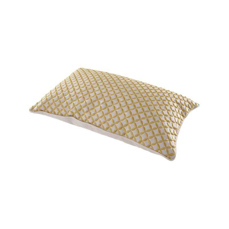 CUSHION GOLD EMBROIDERY  Ligne Roset