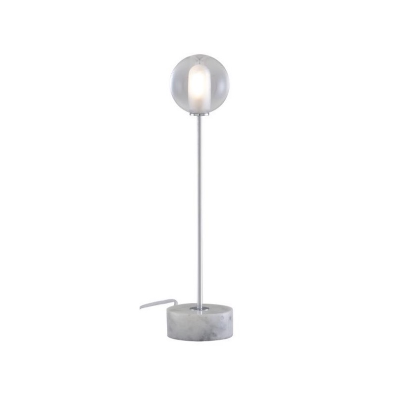 READING LAMP CHROMED STEEL STRUCTURE / WHITE BASE  Ligne Roset